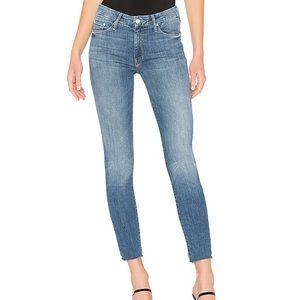 NWOT MOTHER DENIM Looker Ankle Fray Jean
